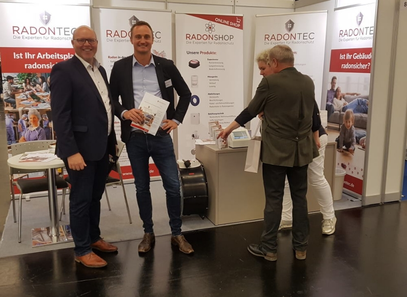 Messestand RadonTec